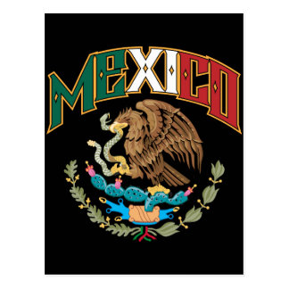 Mexico Big and Bold Postcard