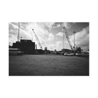 MEXICO Cargo site Canvas Print