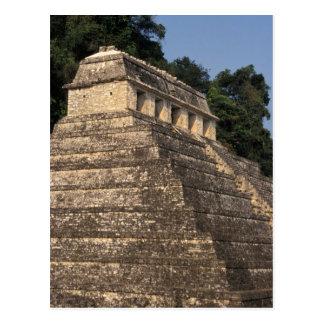 Mexico, Chiapas province, Palenque. Temple of 2 Postcard
