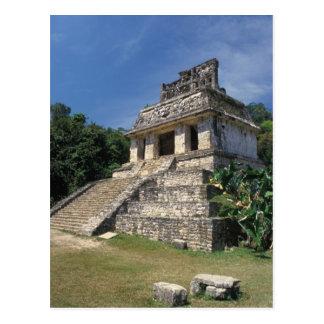 Mexico, Chiapas province, Palenque. Temple of Postcard