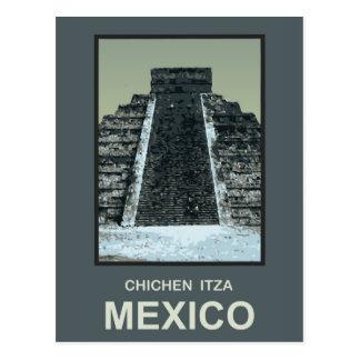 Mexico Chichen Itza Postcard
