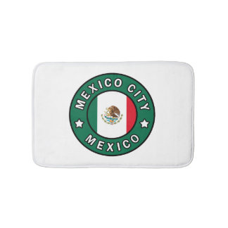 Mexico City Mexico Bath Mat