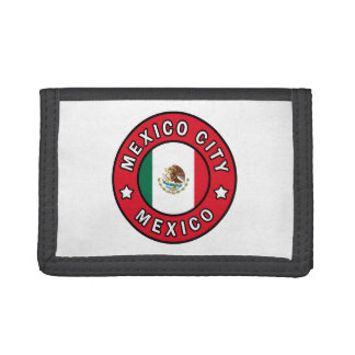 Mexico City Mexico Tri-fold Wallets