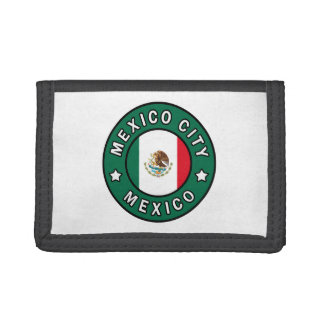 Mexico City Mexico Trifold Wallets