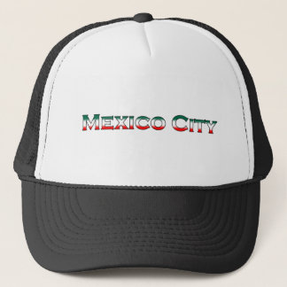 Mexico City National Colors Trucker Hat