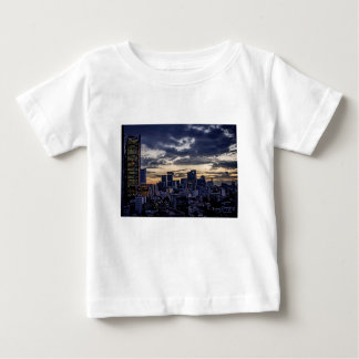 Mexico City Night Skyline Baby T-Shirt