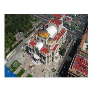 Mexico City  Palace of fine arts Postcard
