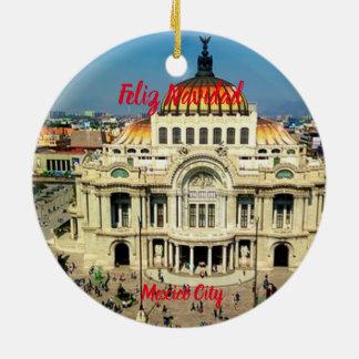 Mexico City Scenic Ornament