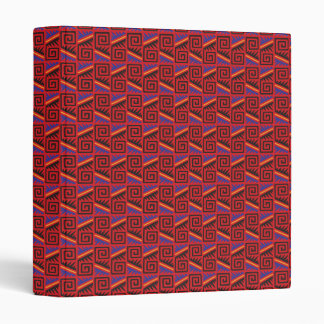 Mexico City Stripe Patterns Binder