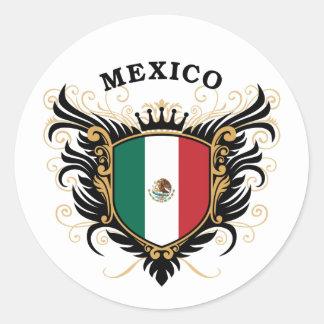 Mexico Classic Round Sticker