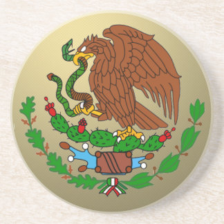 Mexico Coat arms Coaster
