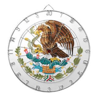 Mexico Coat Of Arms Dartboard