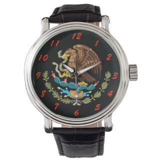 Mexico Custom Coat of Arms Wristwatch