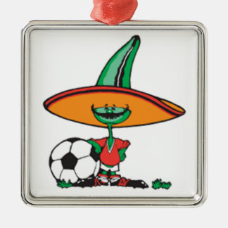MeXiCO cute, design, Metal Ornament