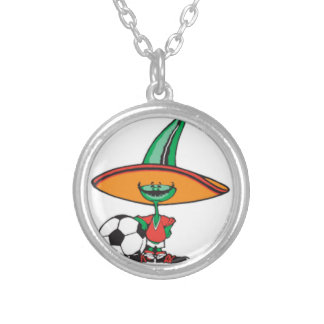 MeXiCO cute, design, Silver Plated Necklace