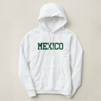 MEXICO EMBROIDERED HOODIE