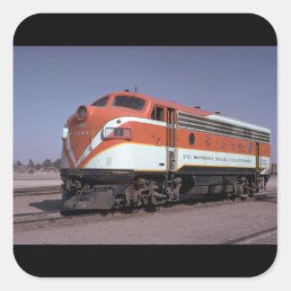 Mexico, Fc Sonora - Baja California_Trains of the Square Sticker