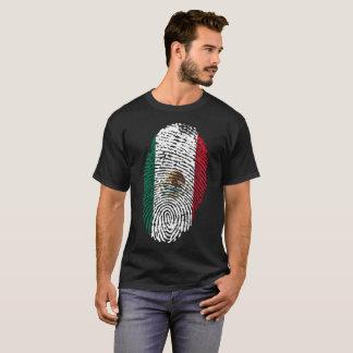 Mexico Fingerprint Nation T-Shirt