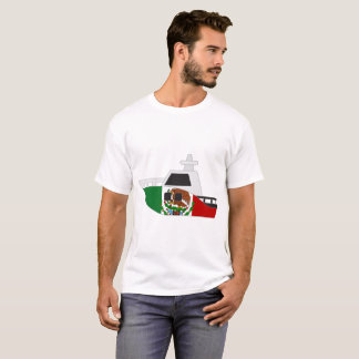 Mexico Flag Boat T-Shirt