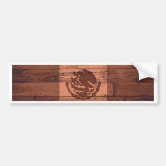 Mexico Flag Brand Bumper Sticker