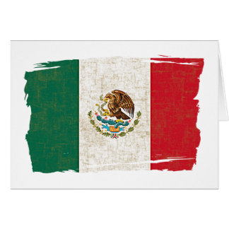 MEXICO FLAG CARD