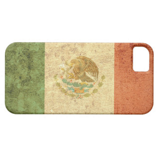 Mexico Flag - Grunge iPhone 5 Case