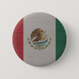 Mexico Flag International 2 Inch Round Button