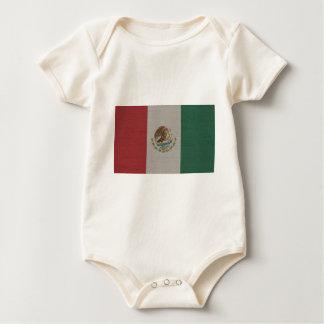 Mexico Flag International Baby Bodysuit