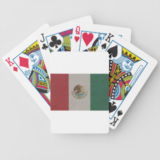 Mexico Flag International Bicycle Playing Cards
