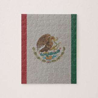 Mexico Flag International Jigsaw Puzzle