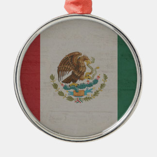 Mexico Flag International Metal Ornament