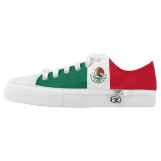 Mexico Flag Low-Top Sneakers