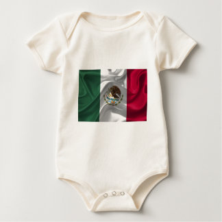 Mexico Flag Mexican Flag Flag Of Mexico Baby Bodysuit