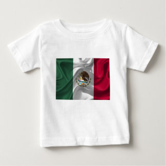 Mexico Flag Mexican Flag Flag Of Mexico Baby T-Shirt