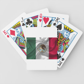 Mexico Flag Mexican Flag Flag Of Mexico Bicycle Playing Cards