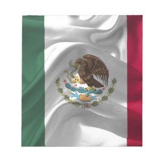 Mexico Flag Mexican Flag Flag Of Mexico Notepad