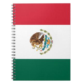 Mexico Flag Notebooks