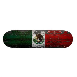 Mexico Flag Skate deck