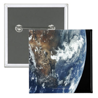 Mexico from Space Pinback Button