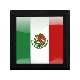 Mexico glossy flag gift box