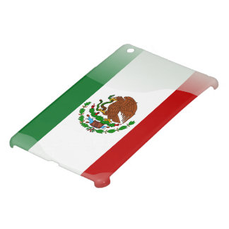 Mexico glossy flag iPad mini cover