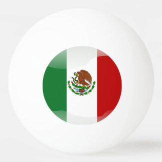 Mexico glossy flag Ping-Pong ball