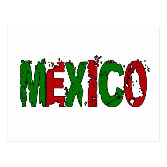 MEXICO - GRUNGE STYLE POSTCARD