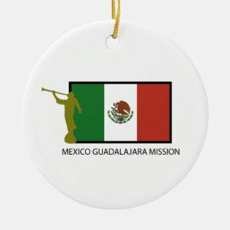 MEXICO GUADALAJARA MISSION LDS CTR CERAMIC ORNAMENT