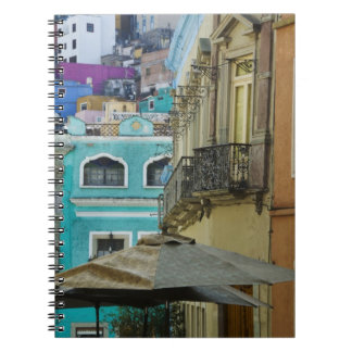Mexico, Guanajuato. Densely packed assortment of Spiral Note Book