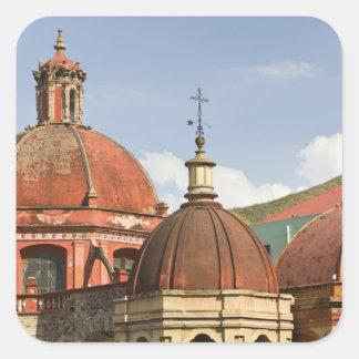 Mexico, Guanajuato State, Guanajuato. Templo de Square Sticker