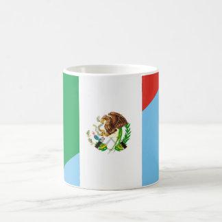 mexico guatemala half flag country symbol coffee mug