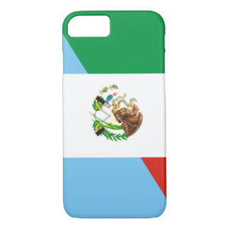 mexico guatemala half flag country symbol iPhone 8/7 case