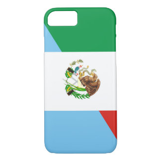 mexico guatemala half flag country symbol iPhone 8/7 case