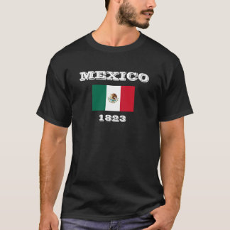 Mexico Independence Flag Dark T-Shirt